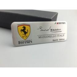 Placa Ferrari Maranello