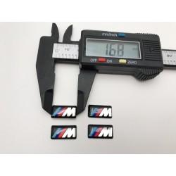 Logo BMW M llantas 17mm x 8mm