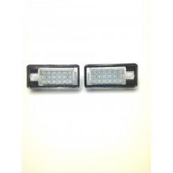 PLAFONES LED DE MATRÍCULA AUDI A3, A4, A6, A7, A8 Q7
