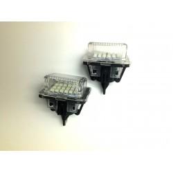 PLAFONES LED MATRÍCULA MERCEDES W204