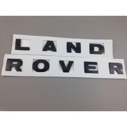 LETRAS LAND ROVER Negro mate