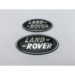 Land Rover Oval Small Black