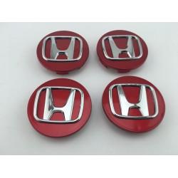 CENTRO DE RUEDA Honda Rojo 70 mm
