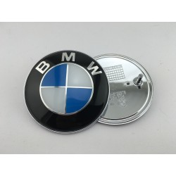 EMBLEMA CAPOT BMW Azul y Blanco Original  82 mm